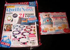 Quilt Now Magazine + Toy Fred Bear Stitching Kit #41 2017 UK