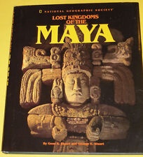 Lost Kingdoms of the Maya 1993 Land of the Mayas Map & Great Illustrations See!
