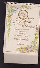 Helen Steiner Rice Inspirational Calendar 1981 Gibson