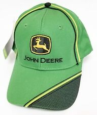 NEW John Deere Green Cap Black Yellow Accent Mesh on the Visor LP66992 22e1ceeb9dab