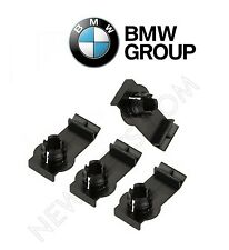 Left+Right 4 GENUINE front Window Regulator Bracket Clips kit For BMW x5