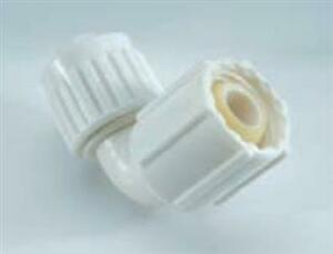 """ELKHART SUPPLY/PLUMBING SWIVEL ELBOW ADAPTER 1/2"""" X 1/2"""". SUITABLE FOR AMERICAN"""
