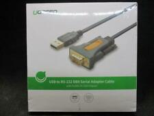 UGREEN USB 2.0 to RS232 DB9 Serial Cable Male A Converter Adapter w/ PL2303