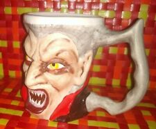 Sawely Dracula Mug Mint 3D Halloween Hard to find