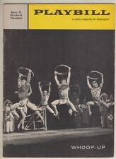 """Whoop-Up""   Playbill   FLOP  1959  Susan Johnson, Sylvia Syms, Paul Ford"