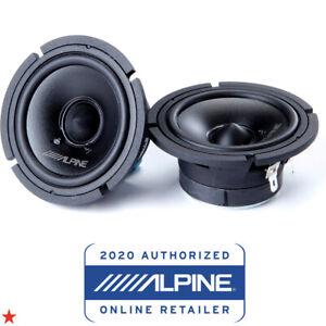 ALPINE 30MC 3-INCH MIDRANGE COMPONENT SPEAKERS (PAIR) 150 WATTS PEAK POWER NEW!