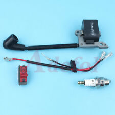 Ignition Coil Stop Switch Plug Kit for Husqvarna 23 26 36 41 240 235 141 136 137