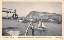 B92639 barcelona montjuich y estacion maritima ship bateaux spain