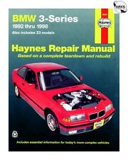 HAYNES Car Manual - BMW 3-Series & Z3 (1992-1998) - 18021A