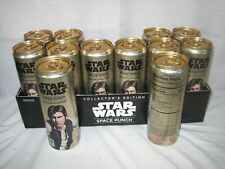 RARE UNOPENED #12 HAN SOLO STAR WARS FULL 12OZ SPACE PUNCH CAN