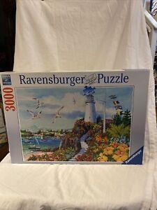 Ravensburger 17073 Coastal Paradise 3000 PC Jigsaw Puzzle Excellent Condition