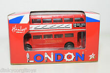 HAMLEYS LONDON TRANSPORTER BUS RED MINT BOXED