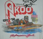 Akoo+Brand+S%2FS+Graphic+Tee+%27MOTOR+BOATIN%27+White+Cotton+MSRP+%2432+NWT+COOL%21+-+Med