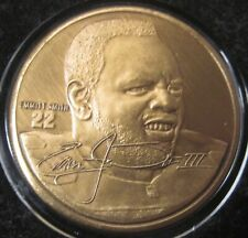EMMITT SMITH THE HIGHLAND MINT BRONZE MINT-COIN COLLECTION LIMITED EDITION w/COA