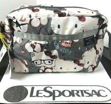 LeSportsac Hello Kitty Shoulder Bag DANIELLA CROSSBODY Black 2434 G630 New P-2