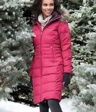 Columbia Womens Xs-s-m Long Down Jacket Warm Winter Coat Varaluck III Black S