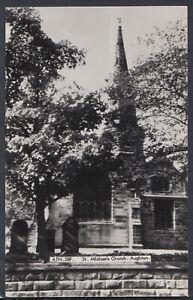 Lancashire Postcard - St Michaels Church, Aughton   RS17993