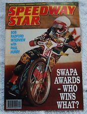 1991 SPEEDWAY STAR Magazine October Tony Rickardsson Dean Standing Andrew Silver