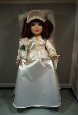 Danbury Mint Dorothy 13 inch 1940's Girl Brides of America wedding
