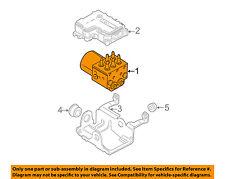 GM OEM ABS Anti-lock Brakes-Modulator Valve 19122463