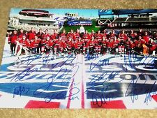 Washington Capitals Winter Classic Signed Team 11x14 Photo 2015     COA