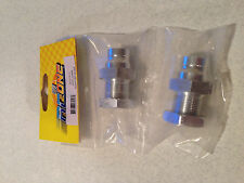 Traxxas Jato Silver Aluminum 23mm Adapter by IMEX 7013