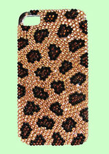 JIMMY CRYSTAL NEW YORK iPHONE 4 & 4S LEOPARD CASE Msrp $175.00 *Reduced Price*