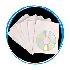 Brand New 1000 Cd Dvd Paper Sleeve Envelope Window Flap Wholesale Lot