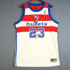 100% Authentic Michael Jordan Nike Swingman Bullets NBA Jersey Size L 44