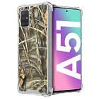 For Samsung Galaxy A51 /A51 4G- Clear TPU Bumper Shockproof Case -1