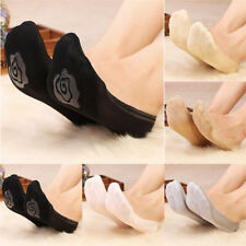 10Pairs Women Invisible No Show Nonslip Loafer Boat Liner Low Cut Cotton SocksBE