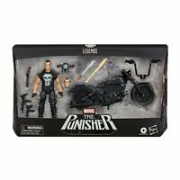 IN STOCK! Marvel Legends Series 6-inch The Punisher AF with Motorcycle
