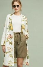 NWT Anthropologie Floral Longline Blazer Jacket Size XL Payal Pratap