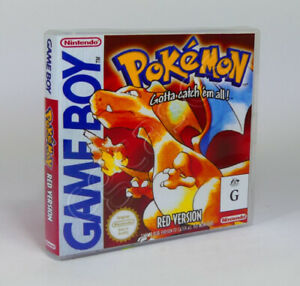 Game Boy GB Game CASE ONLY - Pokemon Red (AU)