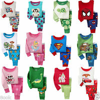 Wholesale 6 sets! Lots of Sleepwear Pajama Sets for Baby Toddler Kids Boys Girls