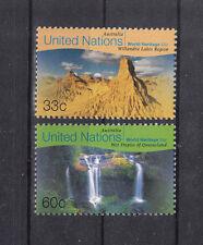 5014 ) UN New York 1999 World Heritage Sites Australia - West Tropic Queensland