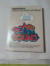 Bomb Squad Intellivoice Voice Synthesis NEW FACTORY SEALED for Intellivision