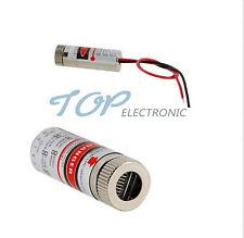 650nm 5mW Red Cross Line Laser  Module Focus Adjustable Laser Head 5V good