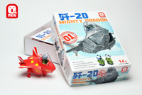 Q-MEN 2019 #01001 J-20 Mighty Dragon Glue-free Quick Assembly Kit, New Released!