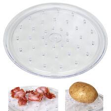 Dexam Multi Purpose Microwave Tray Plate 25cm Stain Proof Jacket Potatoes Bacon