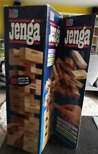 Original JENGA - MB Spiele die große Herausforderung KULT Spiel Holz Komplett