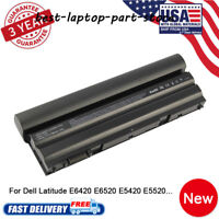 97WH Battery/Charger For Dell Latitude E6420 M5Y0X T54FJ 312-1163 8P3YX NEW US