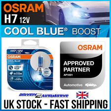 H7 (477) 2X OSRAM COOL BLUE BOOST BULBS 5000K +50% LIGHT HYPER BLUE 62210CBB-HCB