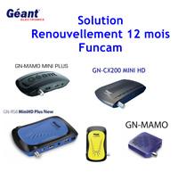 Solution renouvellement Starsat-Géant RS8 - starsat 4040véga mini Funcam 12mois