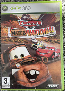 Xbox 360 Game - Disney Pixar Cars Mater-National Championship - VGC Free UK PP