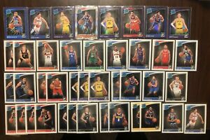 HUGE (40+) RC LOT 2018-19 Donruss Optic Rated Rookie Purple Prizm, Silver Shock