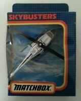 MATCHBOX - Vintage 1987 Unopened Boxed Matchbox Skybusters Shell Helicopter Toy