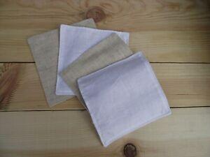 Reusable Hemp Fabric Facial Cleansing Pads