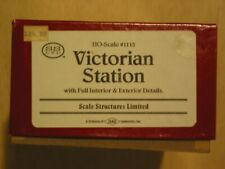 Scale Structures Ltd - Victoria Station - Kit #1115 - HO Scale