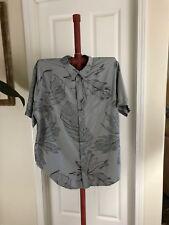 Quicksilver Waterman Mens Casual Dress Shirt